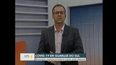 Guarujá do Sul registra a primeira morte por Covid-19 - Guarujá do Sul registra a primeira morte por Covid-19