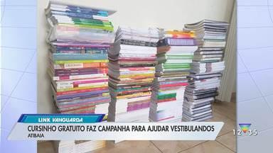 Cursinho gratuito faz campanha para ajudar vestibulandos em Atibaia - Confira as informações.