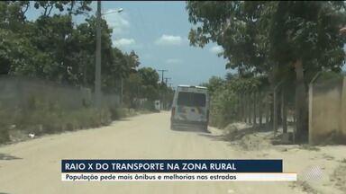Eleições 2020: veja propostas para estradas e transporte na zona rural de Feira de Santana - Confira reportagem especial feita a partir do tema escolhido pelos telespectadores do G1 Bahia.