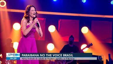 Cantora Adma Andrade é selecionada no The Voice Brasil - undefined