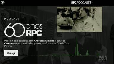 RPC 60 anos: Repórter cinematográfico relembra como eram as primeiras câmeras da emissora - Em podcast, Rubens Vandresen conta como foi ser um dos primeiros no cargo.