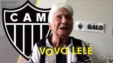 Vovó Lelé ganha rede de informações sobre o Atlético nas redes sociais - Vovó Lelé ganha rede de informações sobre o Atlético nas redes sociais