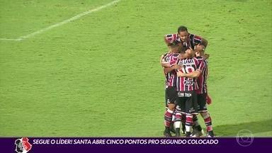 Segue o líder: Santa Cruz vence Botafogo-PB e abre cinco pontos para segundo lugar - Segue o líder: Santa Cruz vence Botafogo-PB e abre cinco pontos para segundo lugar