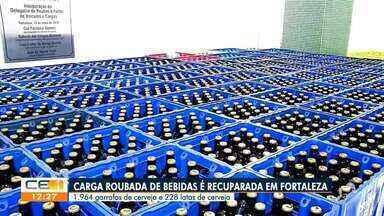Carga roubada de bebidas é recuperada em Fortaleza - Saiba mais em g1.com.br/ce