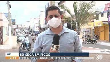 Barese restaurantes são fechados em Picos por conta da lei seca - Barese restaurantes são fechados em Picos por conta da lei seca