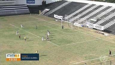 Central vence o Freipaulistano por 1 a 0 e segue dentro do G-4 na Série D - Lucão marcou o primeiro gol como profissional.