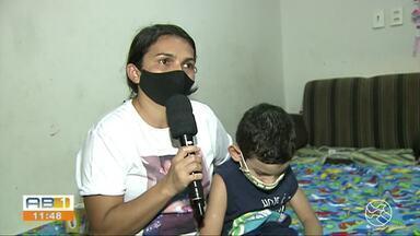 Família cria vaquinha para tratamento de menino com doença grave no intestino - Luiz Miguel, de 6 anos foi diagnosticado com displasia total do intestino, que deixa o órgão sem funcionar. Criança já passou por oito cirurgias.