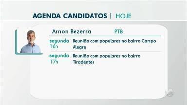 Confira a agenda dos candidatos a prefeito em Juazeiro do Norte - Saiba mais em g1.com.br/ce