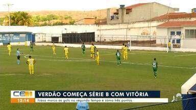Confira as notícias do esporte do Cariri e Centro-Sul - Saiba mais em g1.com.br/ce