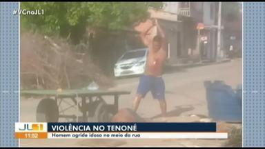 Polícia investiga tentativa de homicídio contra idoso no Tenoné - Polícia investiga tentativa de homicídio contra idoso no Tenoné