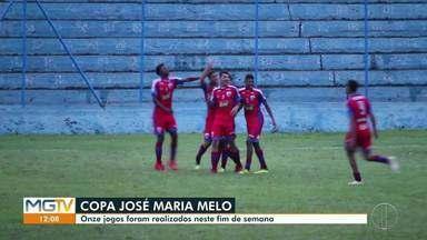 Jogos da Copa José Maria Melo registram muitos gols no fim de semana - Onze partidas foram realizadas no final de semana com 69 gols marcados. Em uma única partida foram marcados 15 gols.