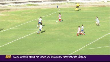 Bahia goleia Auto Esporte no Feminino Série A2, em João Pessoa - Duelo aconteceu no último sábado e apontou vitória por 5 a 1 do time tricolor