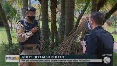 Polícia Militar orienta sobre o golpe do boleto falso em Araxá - Reportagem da TV Integração conversou com o sargento da PM, Rogério Amorim, que apontou medidas que podem ser tomadas para evitar de ser vítima da ação de criminosos.