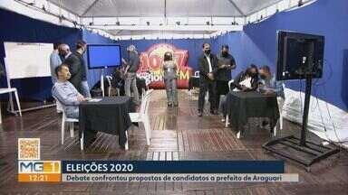 Rádio Regional FM realiza debate com candidatos à Prefeitura de Araguari - Emissora do Grupo Integração promoveu encontro por uma hora e 30 minutos, que contou com confronto de de ideias e apresentação de propostas.