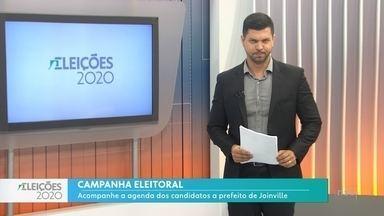 Campanha Eleitoral: acompanhe a agenda dos candidatos a prefeito de Joinville - Campanha Eleitoral: acompanhe a agenda dos candidatos a prefeito de Joinville