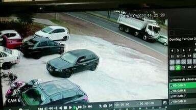 Novas imagens mostram acidente na BR-369 em Londrina - Carro foi atingido por caminhão que fugiu do local do acidente