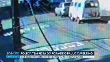 Acusado de matar ator de Chiquititas passou pelo Paraná - Paulo Cupertino fugiu depois de matar a tiros o ator Rafael Miguel e os pais em São Paulo.