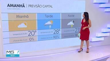 Última semana de outubro tem dias chuvosos - Veja a previsão da meteorologia para Belo Horizonte e região metropolitana.