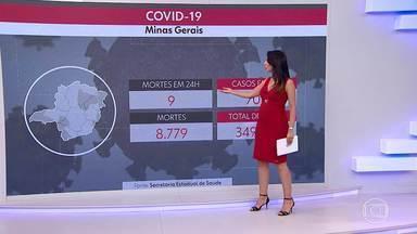 Veja os números da Covid-19 na capital e em todo o estado - A média móvel de mortes continua em queda. Veja também como estão os indicadores que definem a flexibilização, na capital.
