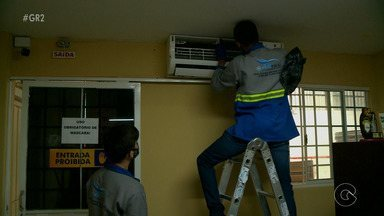 Aumenta a procura por empresas de manutenção de ventiladores e ar-condicionado - Quem trabalha no setor, está se desdobrando para dar conta da alta procura pelos serviços de conserto e manutenção dos aparelhos.