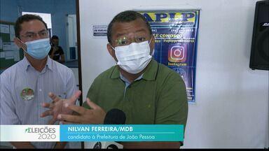 Veja a agenda de campanha de Nilvan Ferreira nesta segunda-feira - Candidato do MDB à prefeitura de João Pessoa.