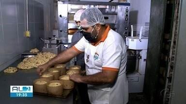 Padarias reforçam fabricação de panetones - Pão é tradição no período natalino.