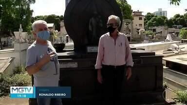Cemitério de Governador Valadares é preparado para o Dia de Finados - Apesar da pandemia, muitas pessoas devem ir aos cemitérios prestar homenagens.