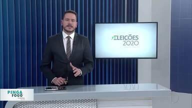 Confira o quadro Pinga Fogo com candidatos à Prefeitura de Campos dos Goytacazes, no RJ - Primeira parte do quadro especial de eleições teve a participação dos candidatos Wladimir Garotinho (PSD) e Roberto Henriques (PC do B).