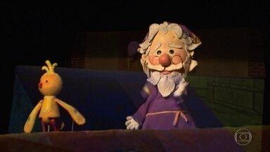 Grupo de teatro de bonecos Giramundo completa meio século de história - Companhia teve que suspender apresentações por causa da Pandemia, E agora, bonecos vão estar num filme.