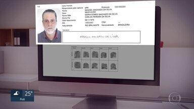 Paulo Cupertino Matias usou RG com nome falso por mais de um ano. Ele está foragido - O documento foi tirado no interior do Paraná. O país não possui um banco de dados nacional
