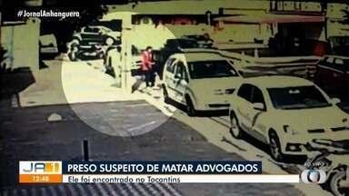 Imagens mostram suspeitos de morte de advogados saindo de hotel em Goiânia - Um dos suspeitos foi preso no Tocantis.