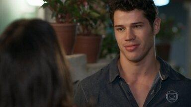 Adônis mente para Shirlei sobre sua faculdade - Apolo diz a Shirlei que não quer mais saber de Tancinha