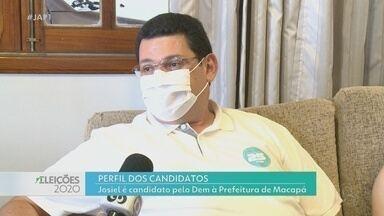 Eleições 2020: veja o perfil de Josiel, candidato do DEM à prefeitura de Macapá - Rede Amazônica exibe série de reportagens com os 10 postulantes ao cargo.