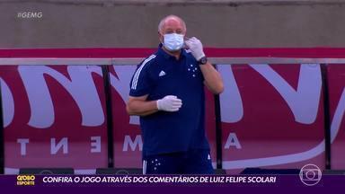 Jogo falado: Felipão é o nosso comentarista de Cruzeiro x Paraná - Jogo falado: Felipão é o nosso comentarista de Cruzeiro x Paraná