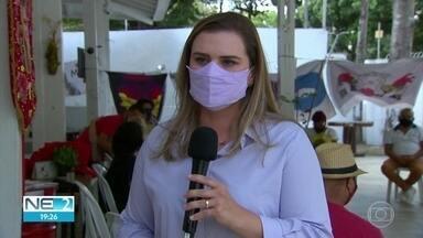 Marília Arraes promete valorizar setor cultural do Recife - Candidata do PT participou de encontro no bairro de Santo Amaro.