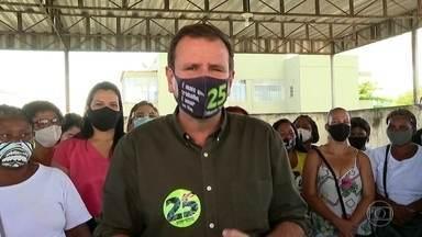Eduardo Paes (DEM) faz campanha em Bangu - Eduardo Paes (DEM) faz campanha em Bangu