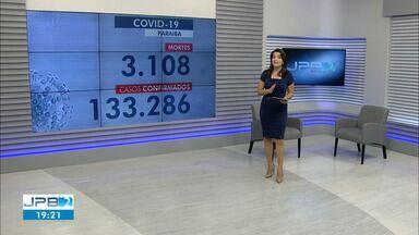 Paraíba tem 133.286 casos de Covid-19 e 3.108 mortes - Novo boletim trouxe 66 casos e uma morte.
