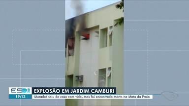 Incêndio atinge quatro apartamentos em Jardim Camburi, em Vitória; morador morreu - Veja na reportagem.