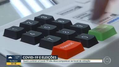 Eleitores e mesários que tiverem Covid-19 não devem comparecer aos locais de votação - Eleitores e mesários que tiveram Covid-19 nos 14 dias antes da eleição não devem comparecer às seções eleitorais, orienta TSE