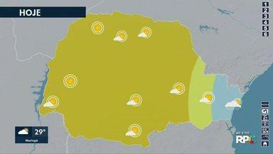 Veja como fica o tempo nesta quinta-feira - Dados são da Somar Meteorologia.