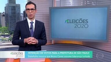 Datafolha divulga mais uma pesquisa para a prefeitura de São Paulo - Eleitores também responderam sobre em quem votariam em um possível segundo turno.