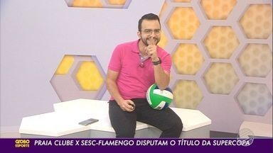 Técnico da Seleção Brasileira de vôlei analisa confronto da Supercopa - Zé Roberto Guimarães prevê jogo duro entre Praia Clube e Sesc Flamengo