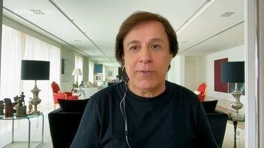Tom Cavalcante conta que tem mais de cem personagens - Convidados contam piadas