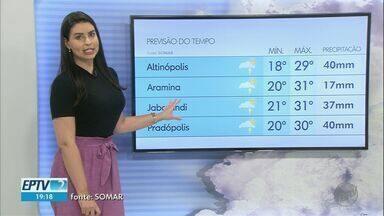 Veja a previsão do tempo para esta quarta-feira (10) na região de Ribeirão Preto - Deve vir cair mais água porque os sistemas que provocam chuva ainda não foram embora.