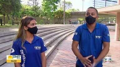 Estudantes apresentam pesquisas na feira Ciência Jovem - Por conta da pandemia, a feira é toda virtual neste ano.