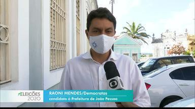 Raoni Mendes fala de propostas para a cultura - Candidato do DEM visitou o Hotel Globo.