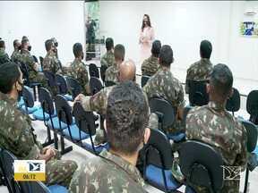 Mais de 300 soldados do Exército participam da segurança das eleições no MA - Eles vão atuar em 32 municípios na região centro sul do estado.