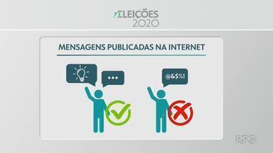Veja o que pode e o que não pode nas eleições deste ano - Muitos candidatos estão usando a internet para se aproximar dos eleitores.