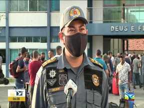 Policiais reforçam a segurança das eleições no interior do MA - Segundo o comandante geral, coronel Pedro Ribeiro, a Polícia Militar dentro da sua competência vai realizar o policiamento na segurança das eleições em todos os 217 municípios do Maranhão em três fases.