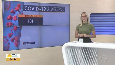 Alagoas confirma 101 novos casos e quatro mortes por Covid-19 - Número de recuperados da doença chegou a 88.979.